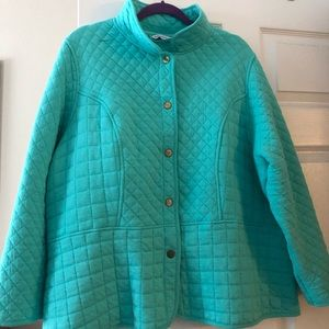 Isaac Mizrahi Quilted Jacket